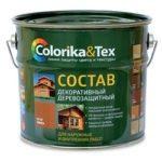 Состав деревозащитный Colorika&Tex