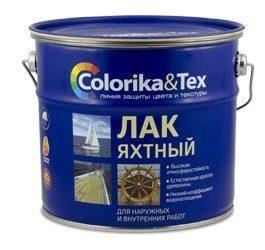 Лак яхтный Colorika&Tex